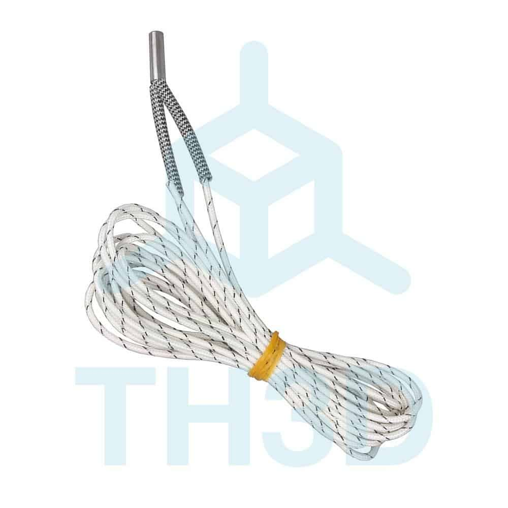 Toaiot 3D Printer Upgraded Accessories Wire heating cartridge 24v 50W 1Meter Heating Tube 620mm Ceramic Cartridge Heater for for Ender 3 Sensor Heater Block 3D V6 J-Head Hotend Extruder-3Pcs